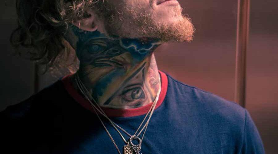 tatouage cou