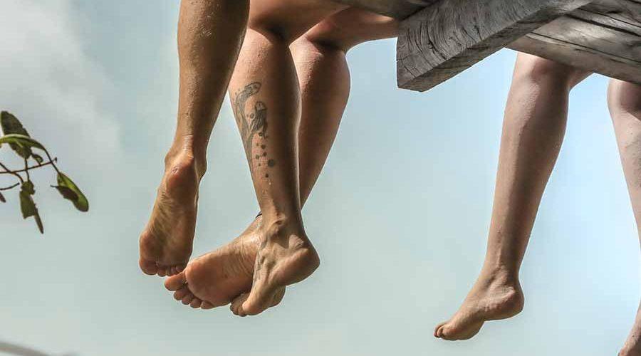 tatouage mollet